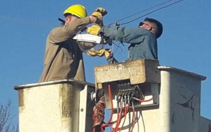San Martin repara un promedio de 60 luminarias por semana