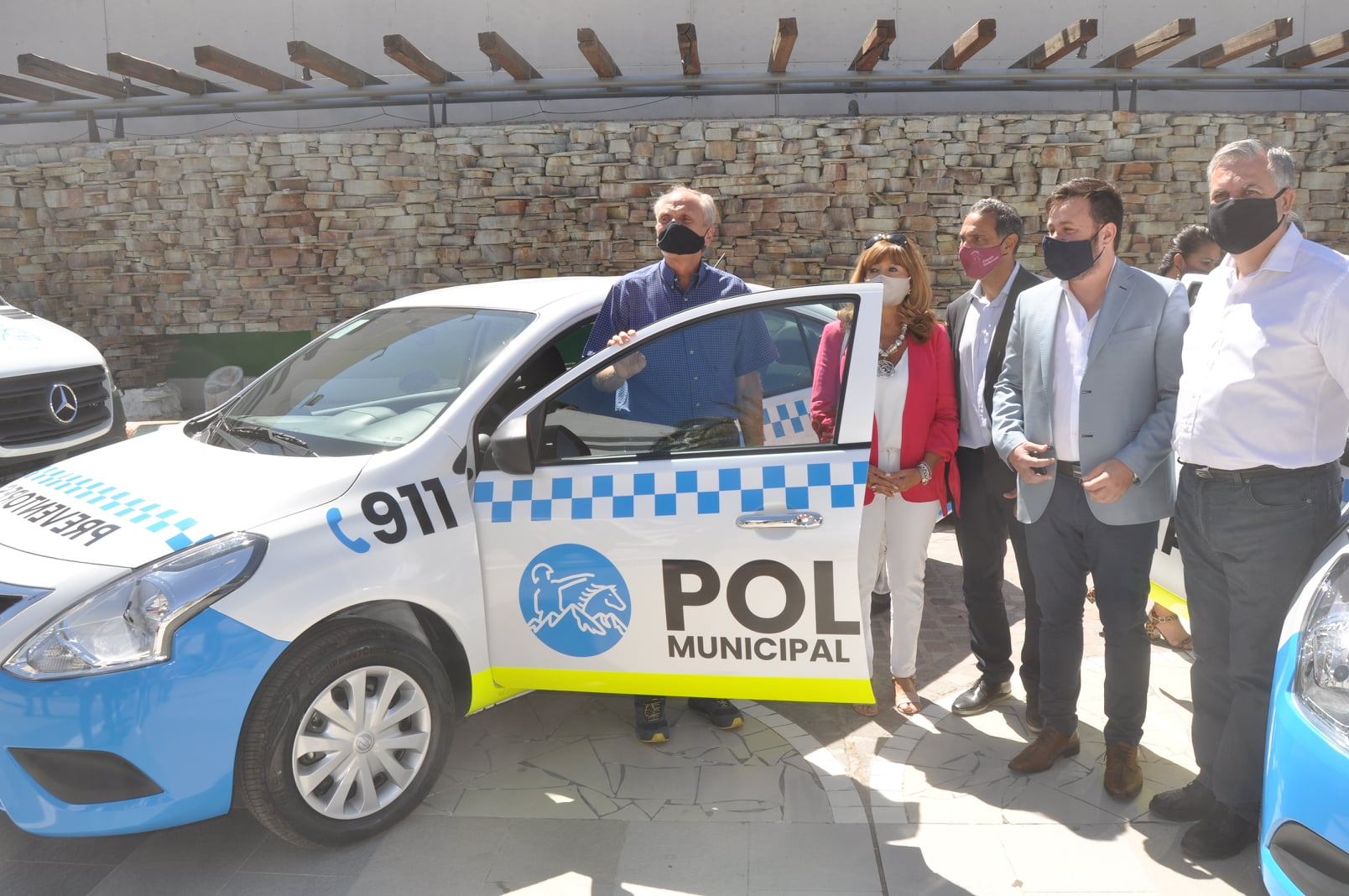 San Martin incremento su flota vehicular con unidades 0km.
