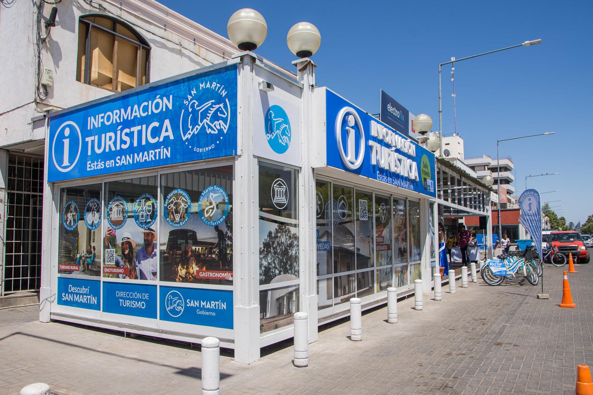 San Martín cuenta con una nueva oficina turística
